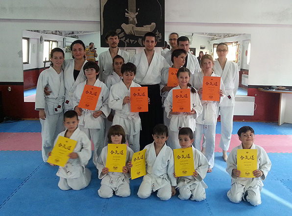 kids aikido exam